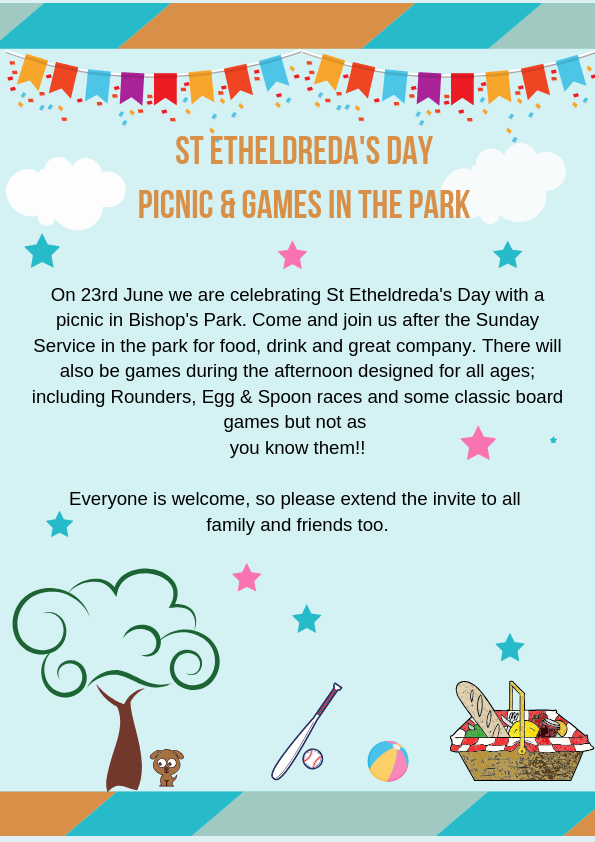 ST ETHELDREDA'S DAY PICNIC & G